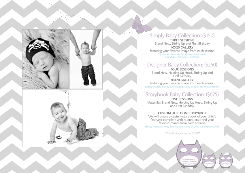 Louisville Photographer Shanna Simpson Baby Pricing