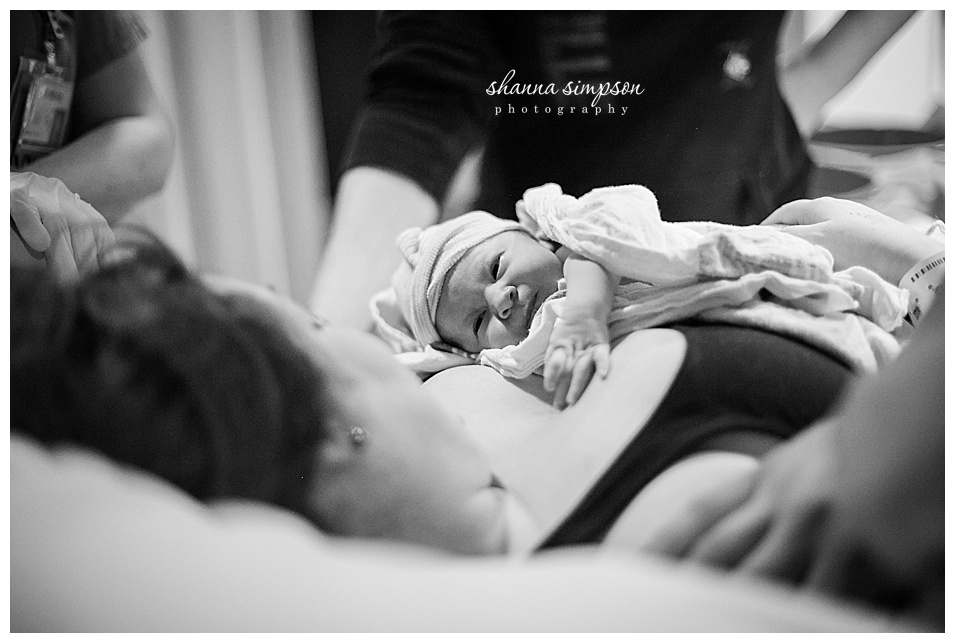 The Birth of Nori | Birth Photographer Shanna Simpson