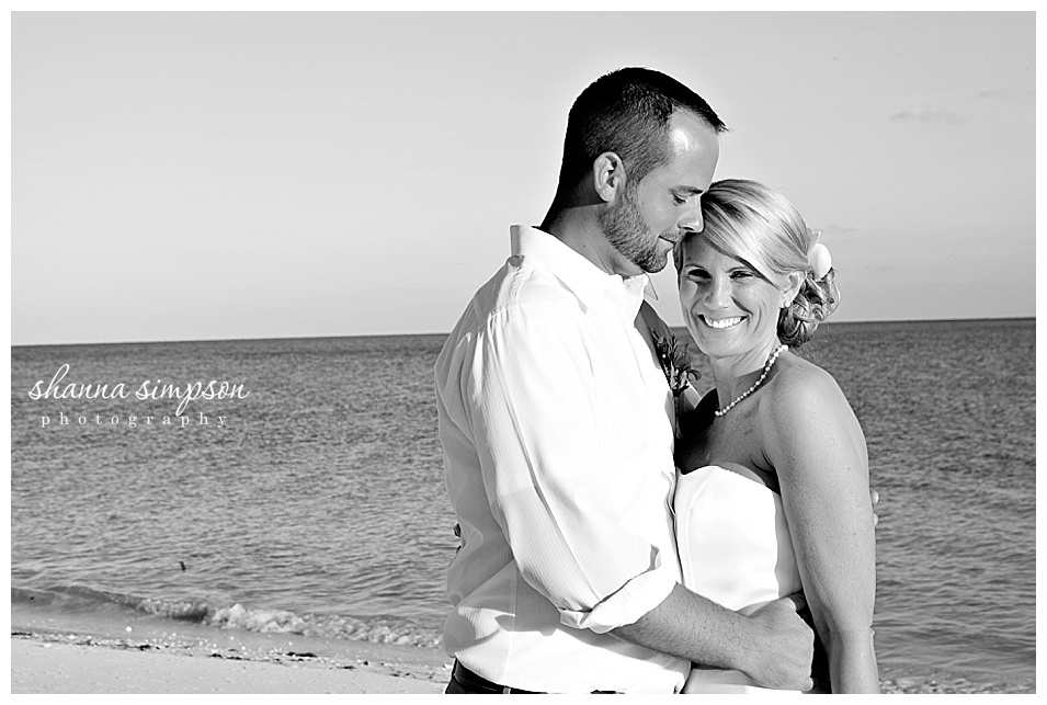 Alison and Craig Destination Wedding in Freeport Bahamas