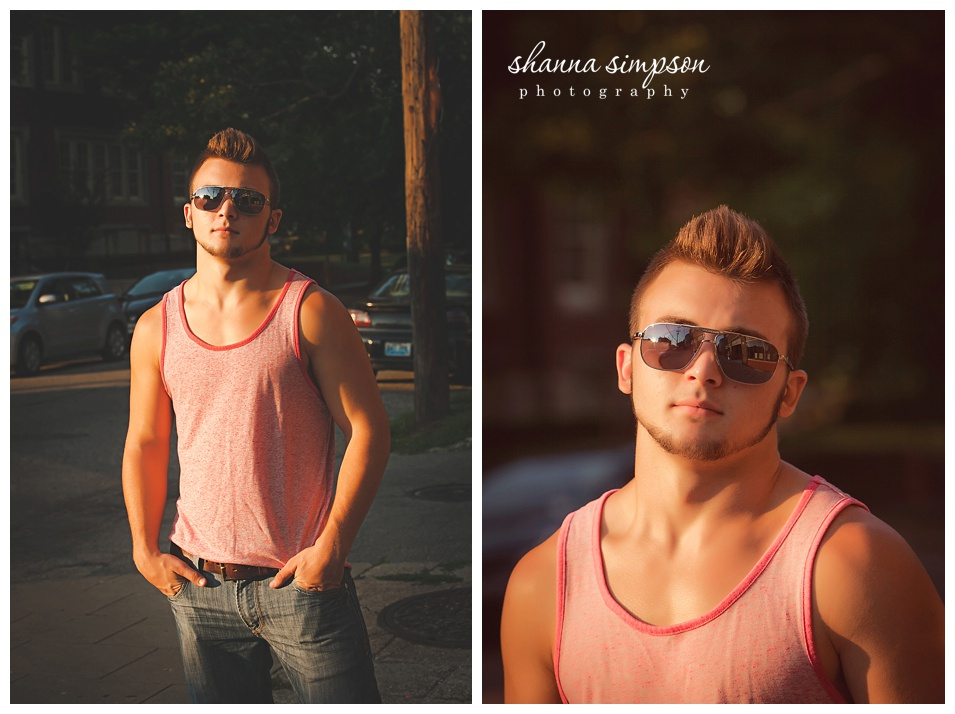 Louisville Senior Photographer Shanna Simpson } Calieb Class of 2015