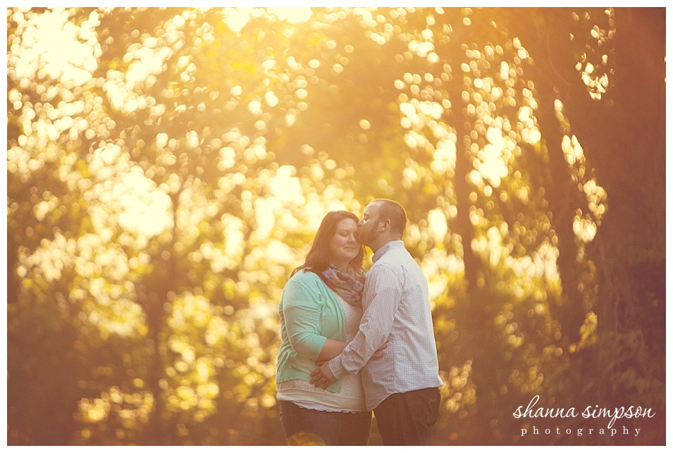 Elizabeth and John's Louisville Sunrise Engagement Session