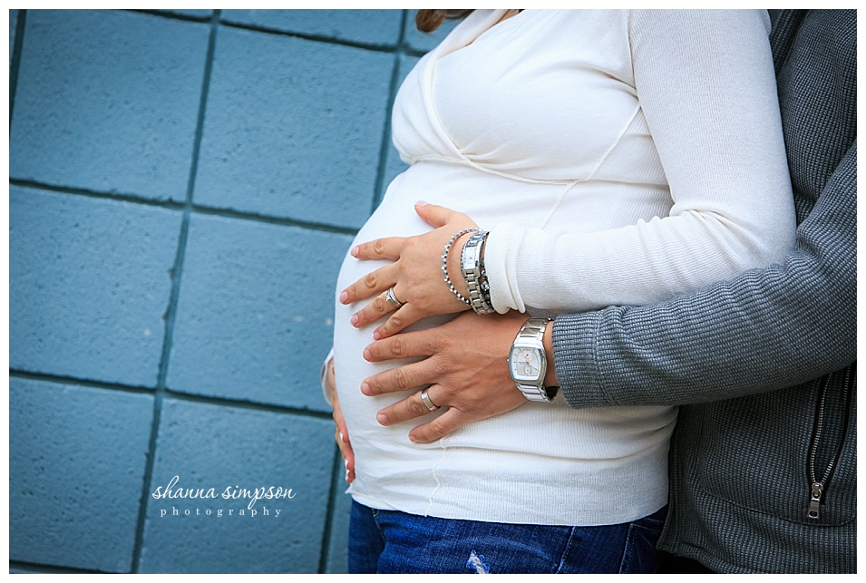 Louisville Urban Maternity Session